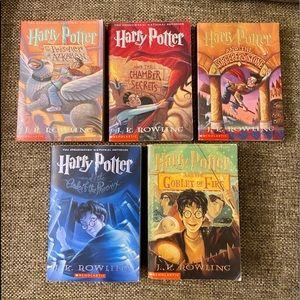 Harry Potter Series (Books 1-5)